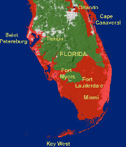 Climate Change Florida Map.The Reference Frame Climate Change Deniers Will Drown Before Florida